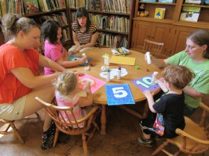 Activity time during Summer Storytime 2016