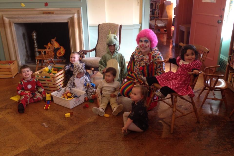 Halloween 2015 Storytime