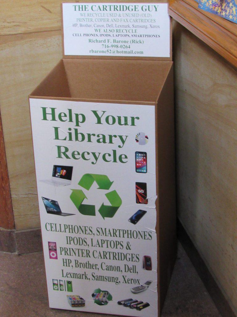 Recycle Cartridge Box
