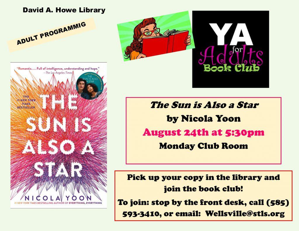 YA for adults book club