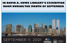 9/11 poster memorial exhibit